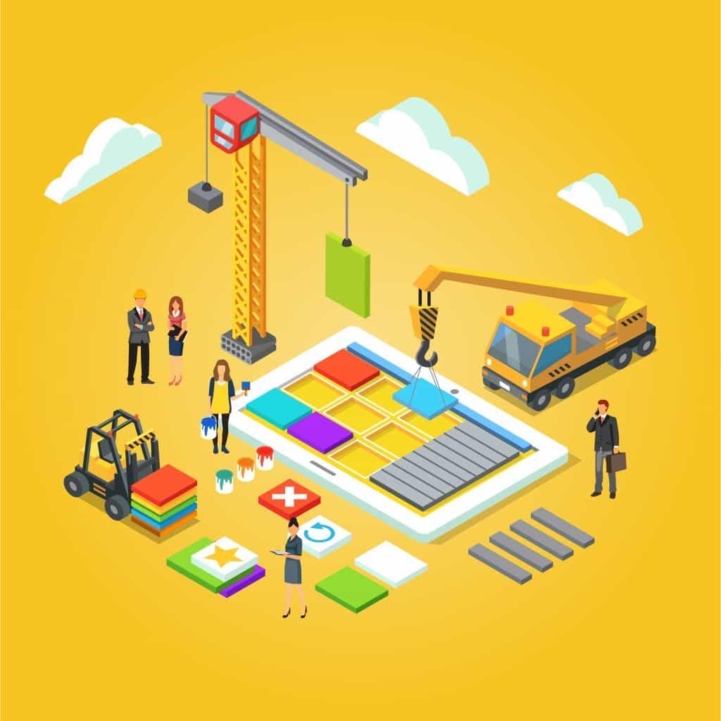Image of app builders from the UK building progressive web apps