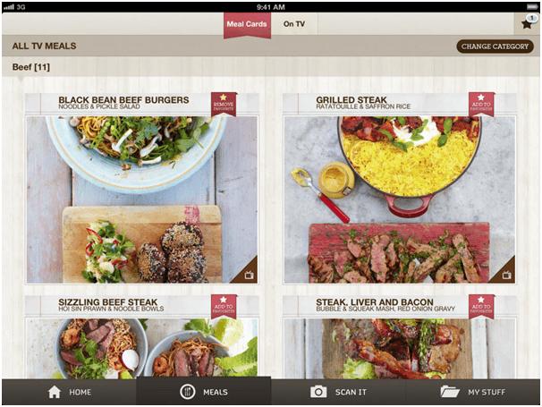Big budget food app by Hedgehog Labs mobile app development companies