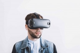 man with vr set