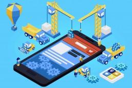 Mobile app development for brand awareness